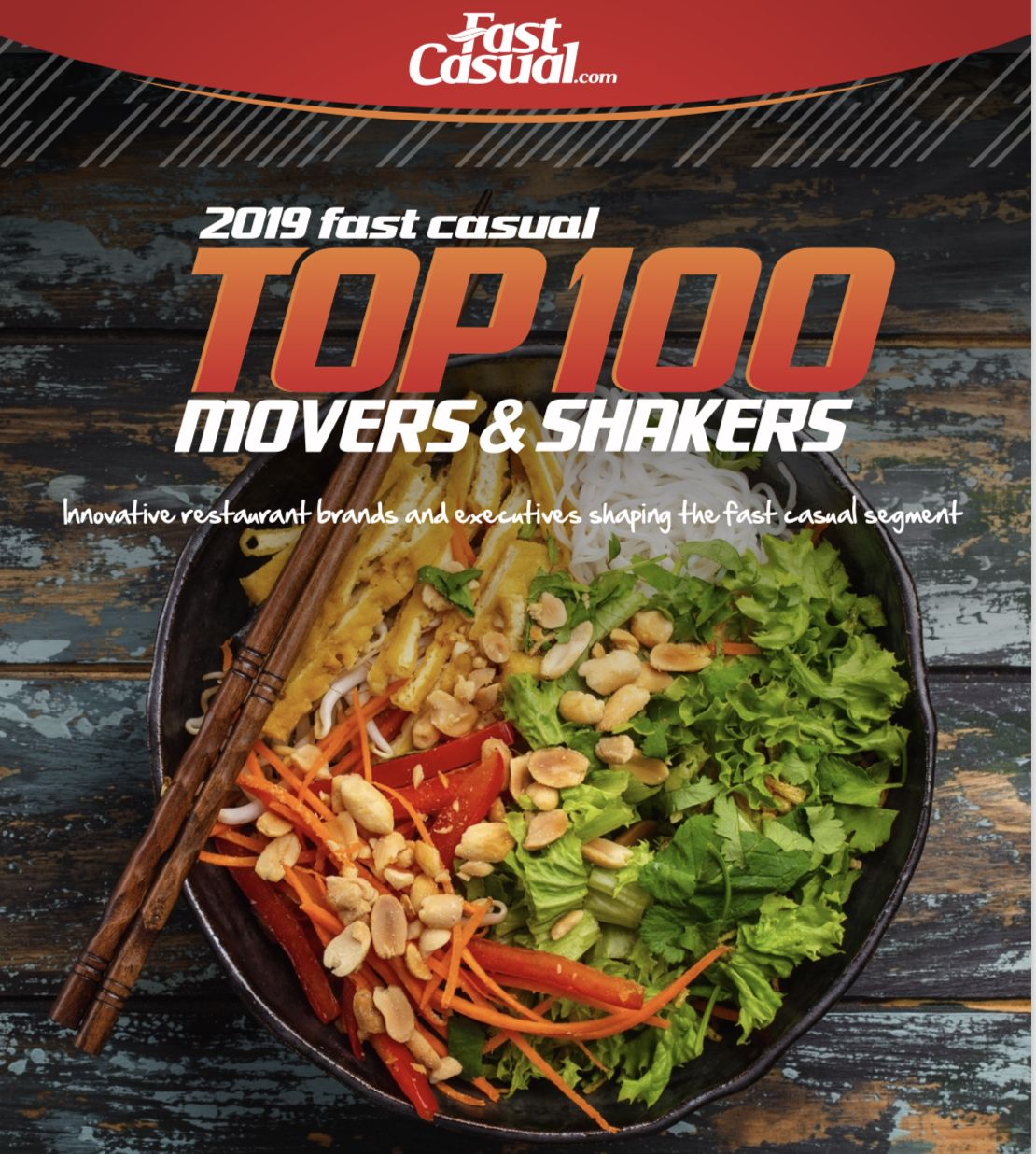 Crave Hot Dogs and BBQ Places #16 in Top 100 Movers and Shakers Awards