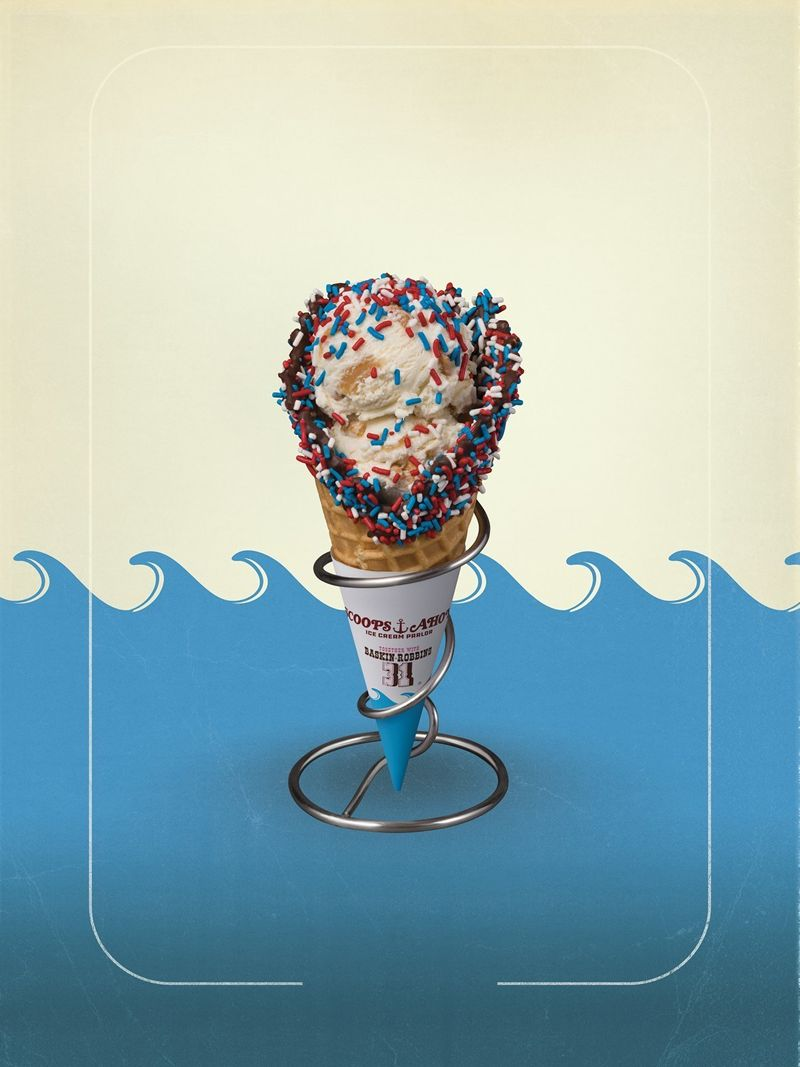 """Baskin-Robbins Drops an Epic """"Stranger Things"""" Anchor in July"""