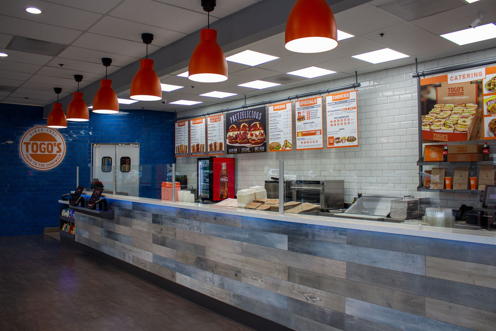 Togo's California Store of the Future Offers Fresh Look and Experience for Customers and Greater Efficiencies for Franchisees
