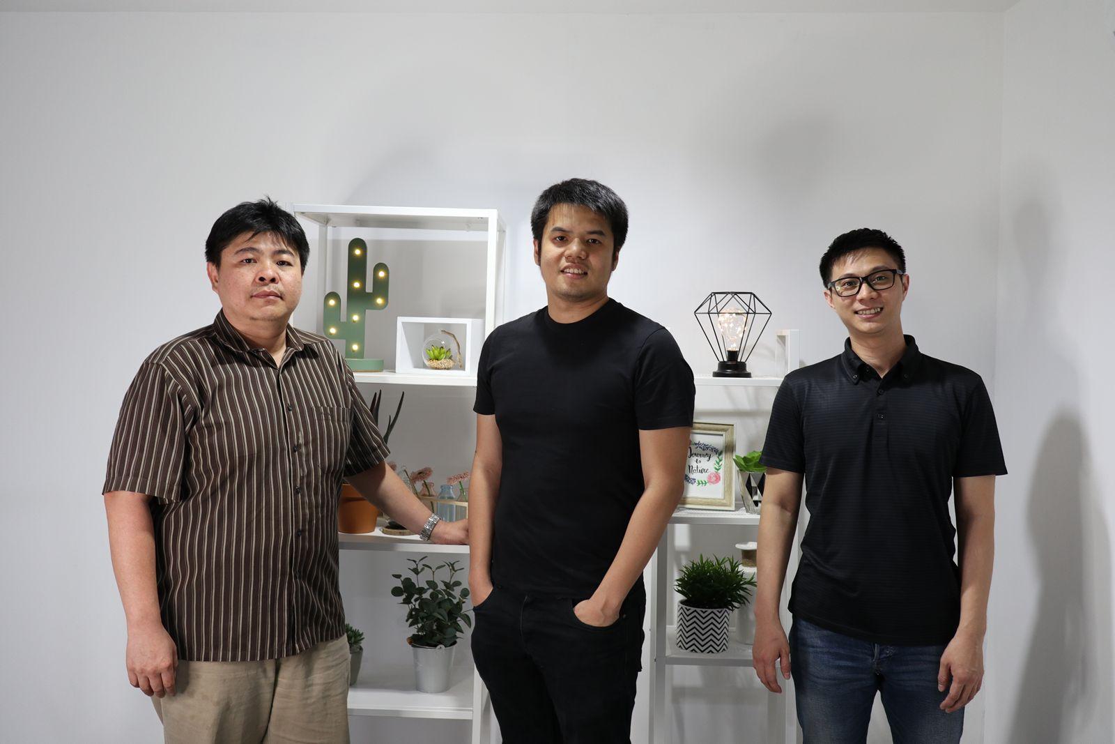 Pictured: William Siawira, Franseda Natalio and Erwin Sujono.