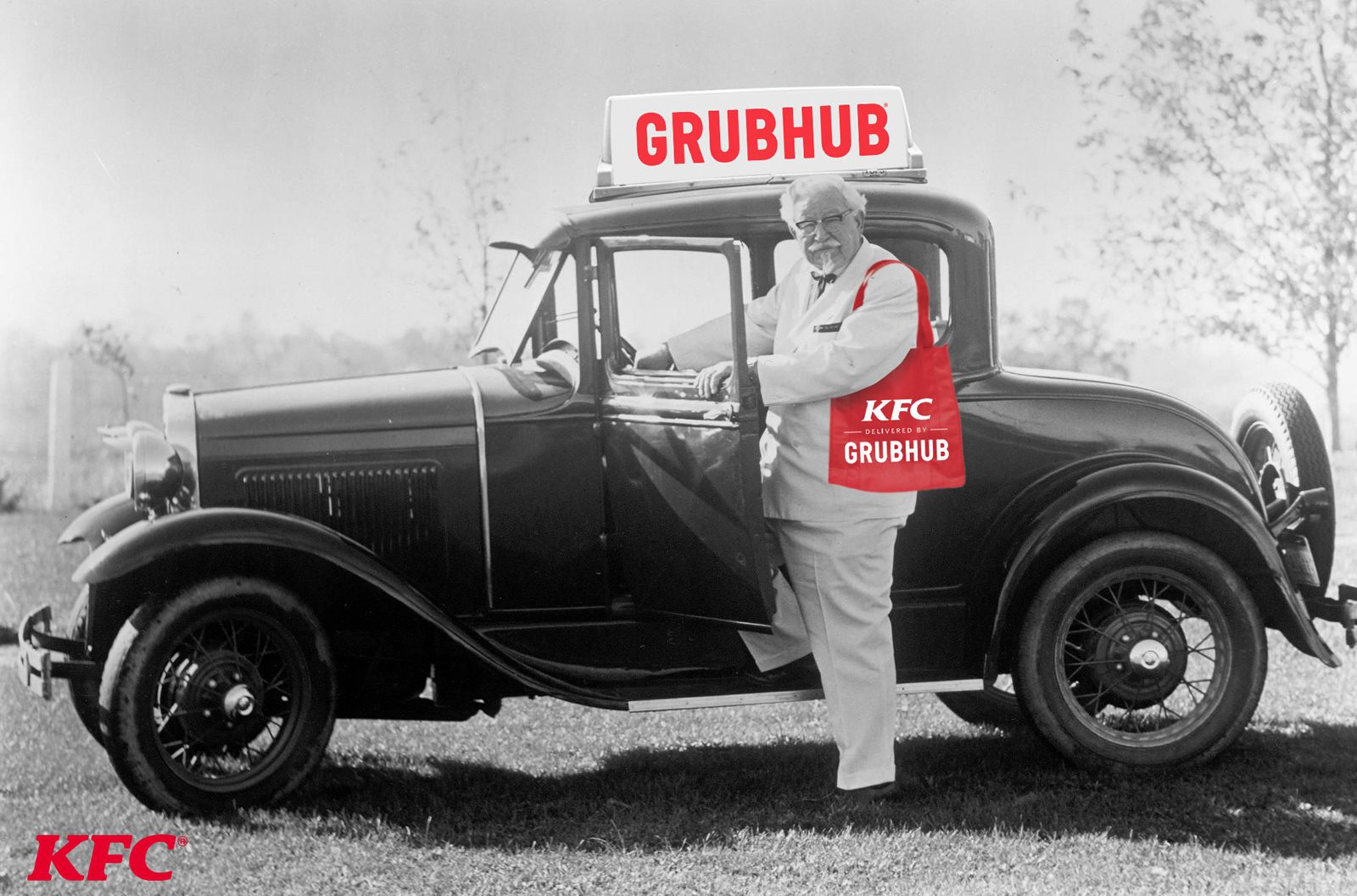 KFC Celebrates National Fried Chicken Day With Free Grubhub Delivery July 4-7
