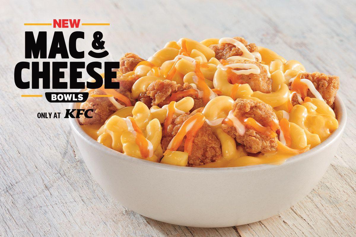 KFC introducing Mac & Cheese Bowls