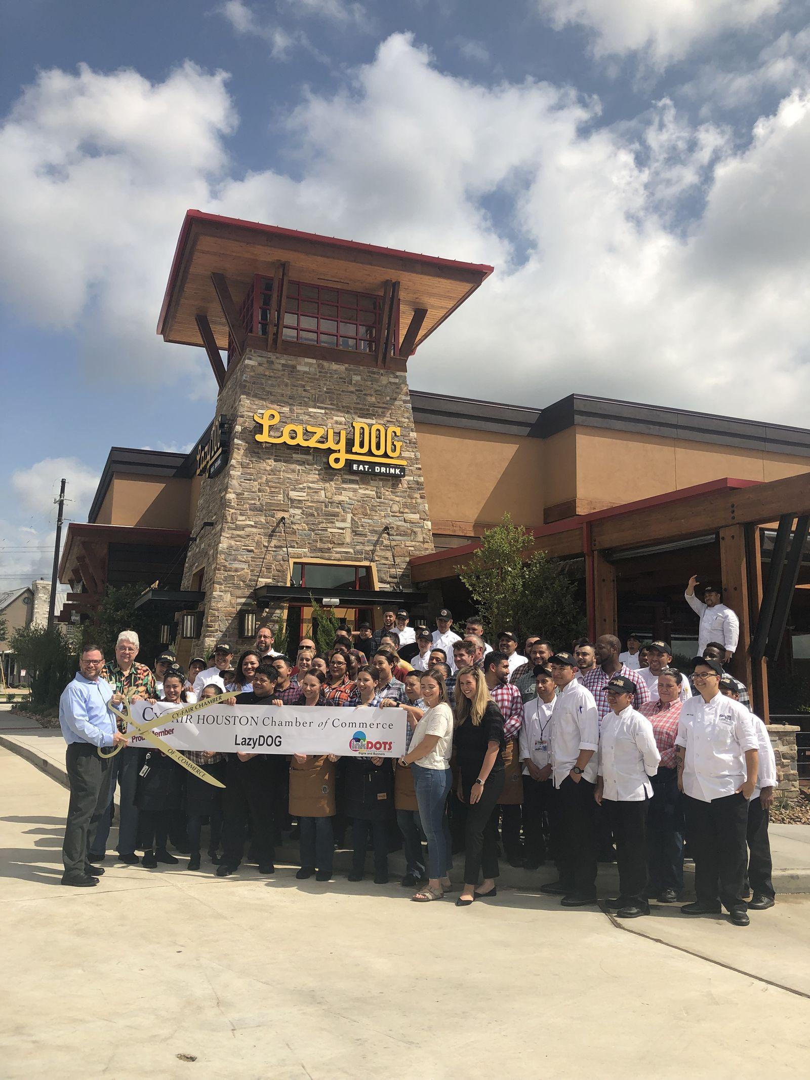 Lazy Dog Restaurant & Bar Opens in Houston's Cypress Crossing