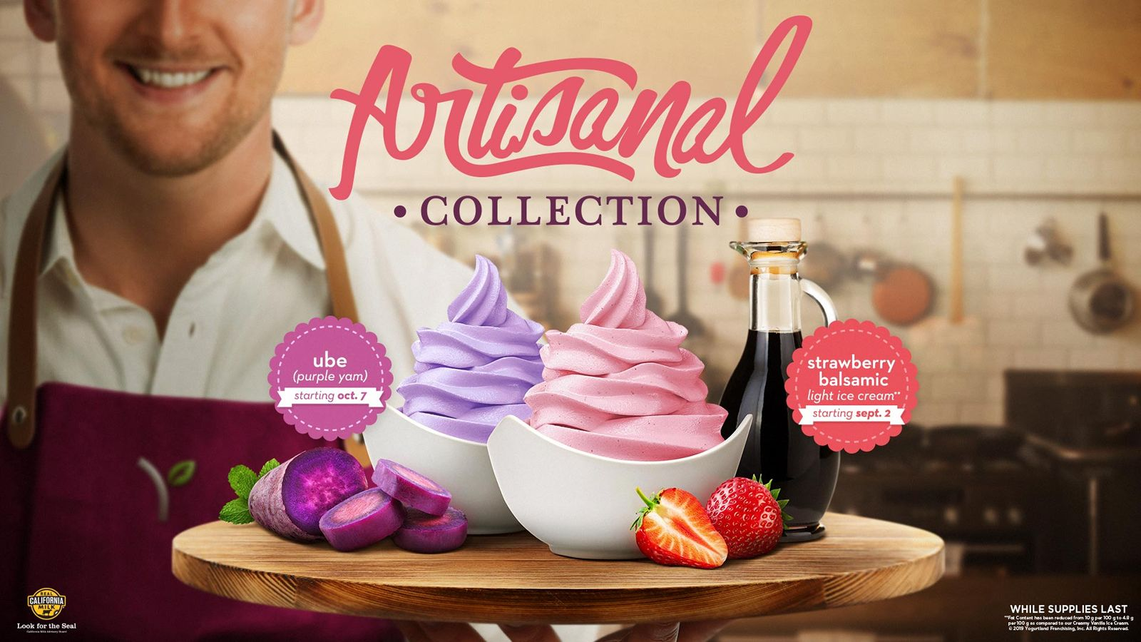 Fall into an Artisanal Experience with Yogurtland's Two New Flavors this September and October