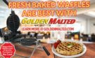 Serve America's Favorite Waffles with Golden Malted - It's Quick & Easy