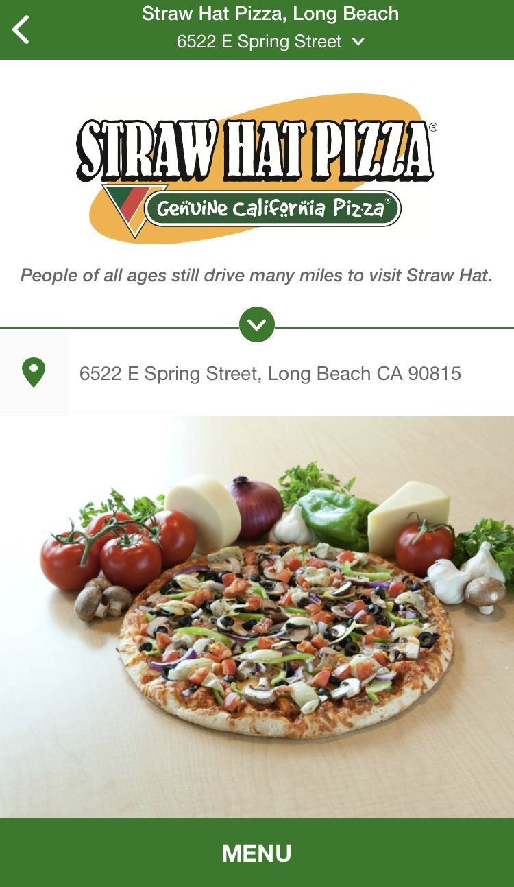Straw Hat Pizza Partners with FreshBytes for Mobile Ordering