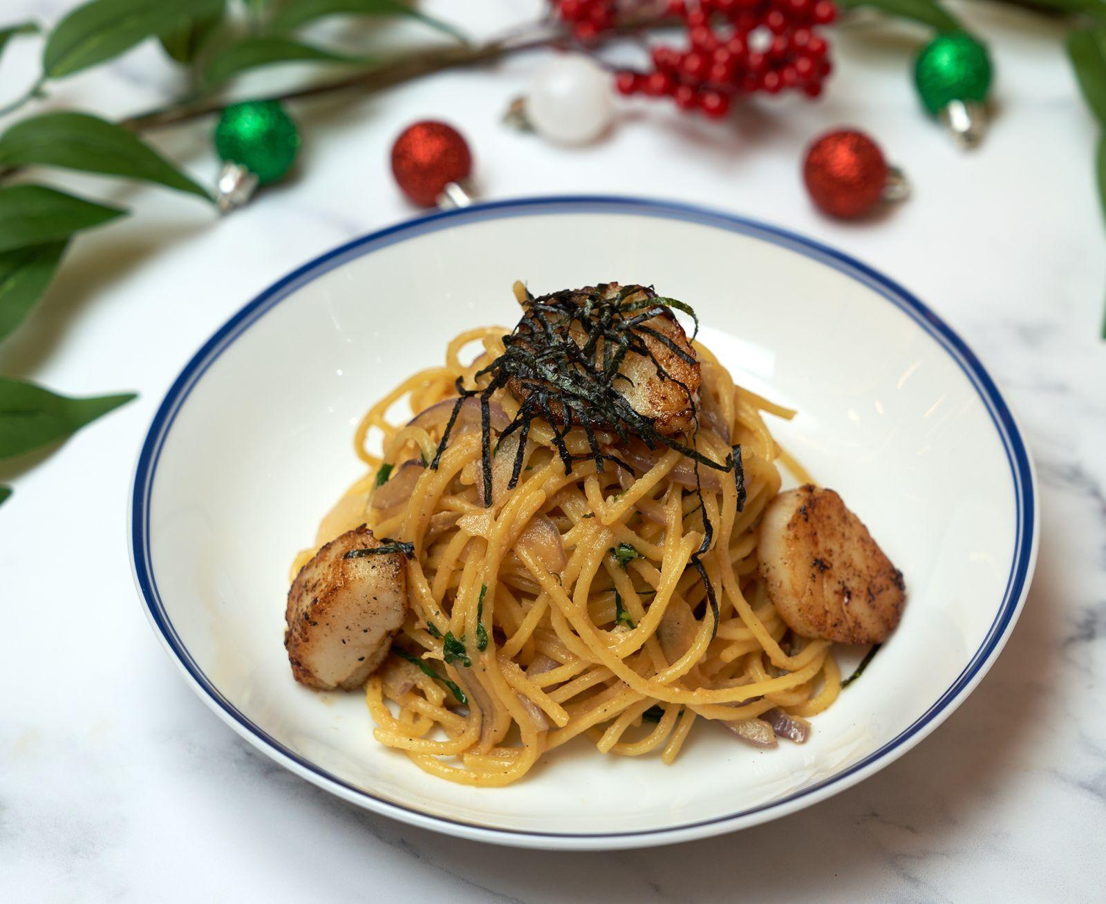 Casa Barilla Introduces Delicious Spaghetti Scallops with Miso Butter and Cauliflower Pizza