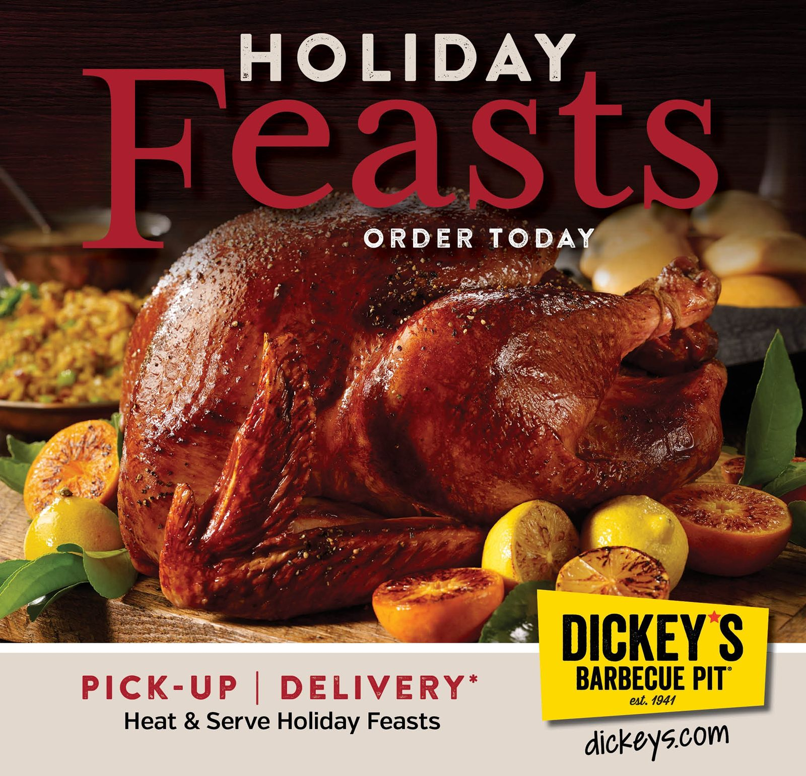 Dickey's Barbecue Pit Sells Record Number of Turkeys this Holiday Season