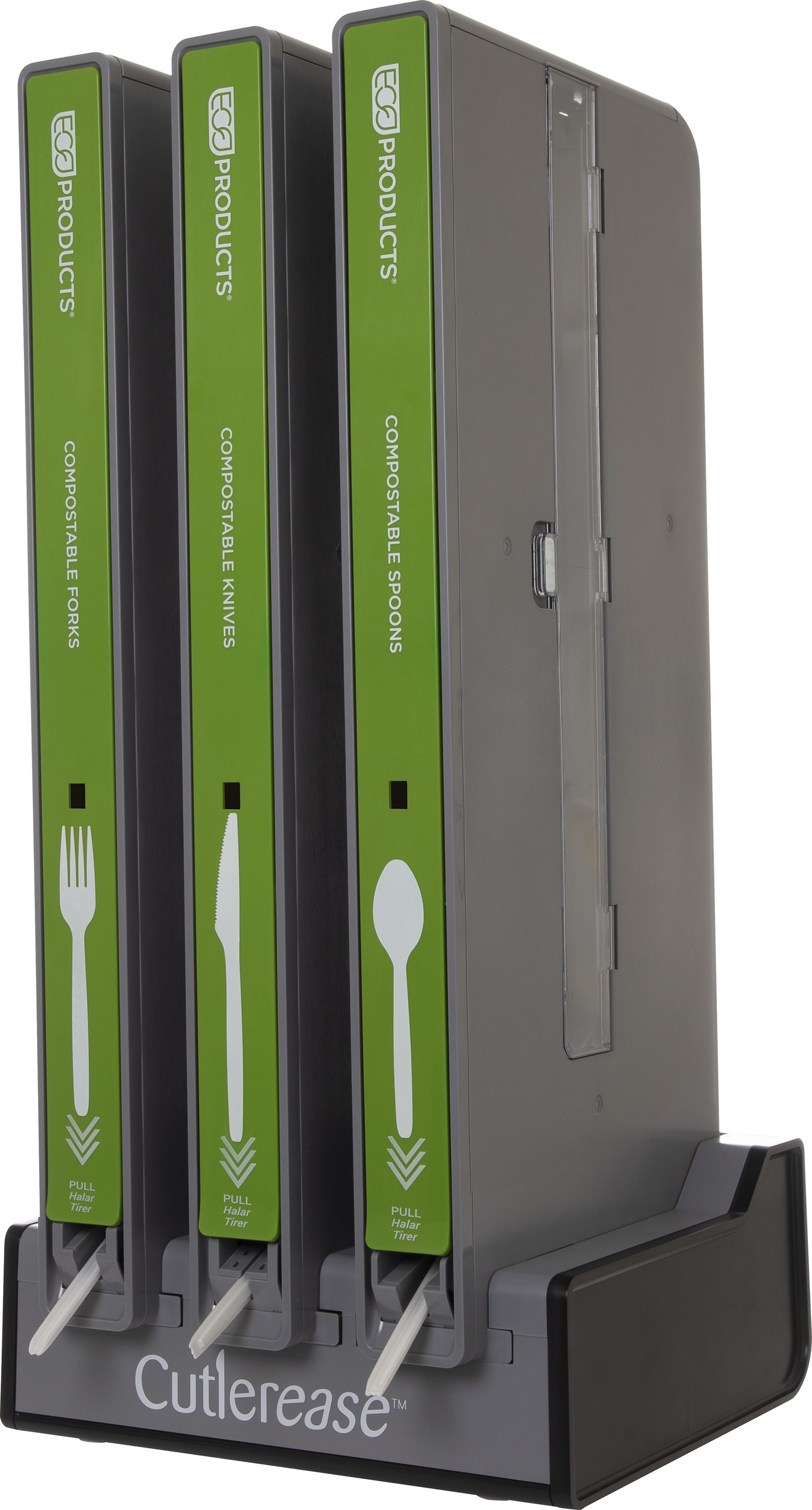 Eco-Products Unveils Compostable Utensils for Cutlerease Single-Unit Dispenser
