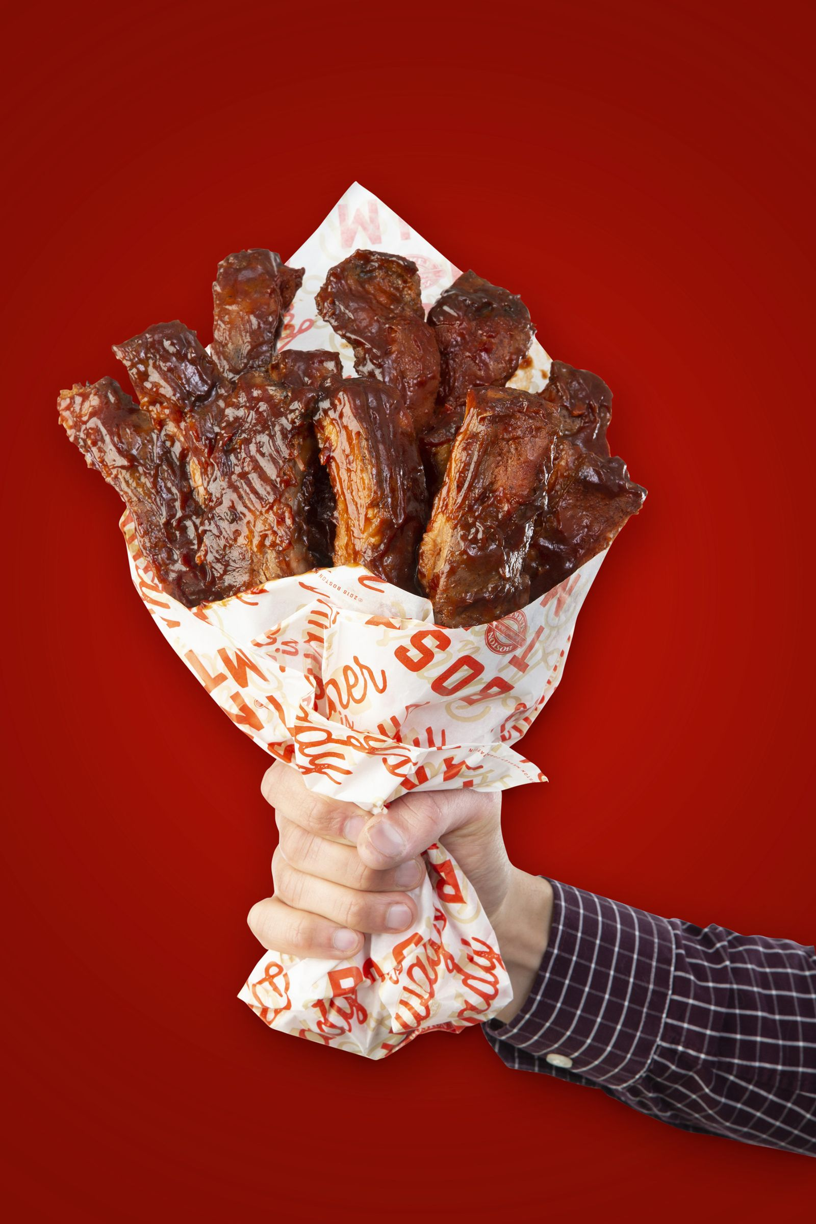 "Boston Market Embraces the Sweet and Saucy Sides of Love this Valentine's Day with Limited Edition Bouquets of ""BAE-by"" Back Ribs"