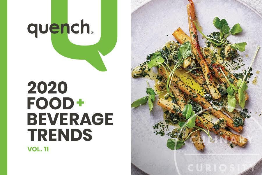 Five Important Trends Impacting the Food and Beverage Industry Outlined in quench 2020 Food & Beverage Trends Report