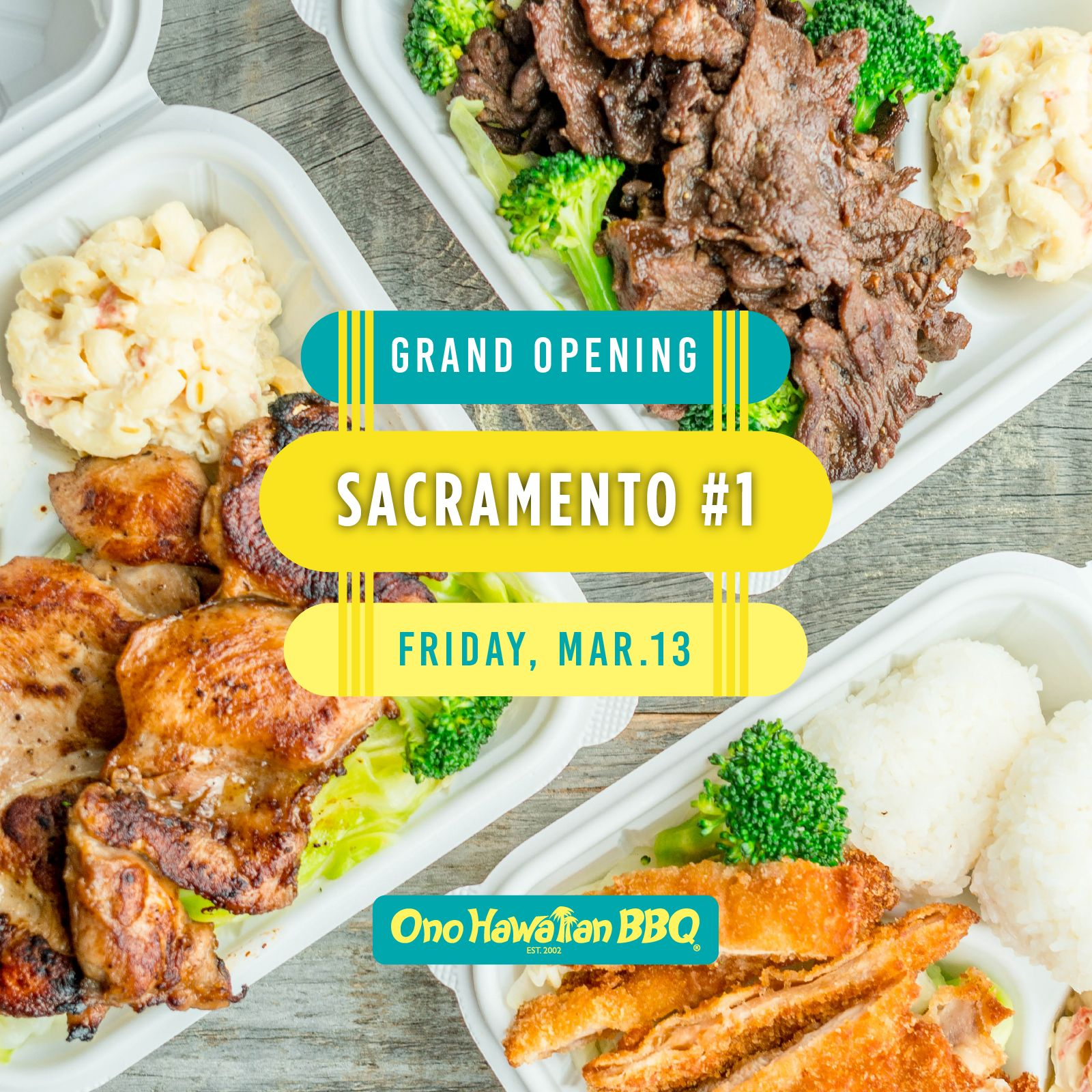 Ono Hawaiian BBQ Expands Across Sacramento With its Fourth ...