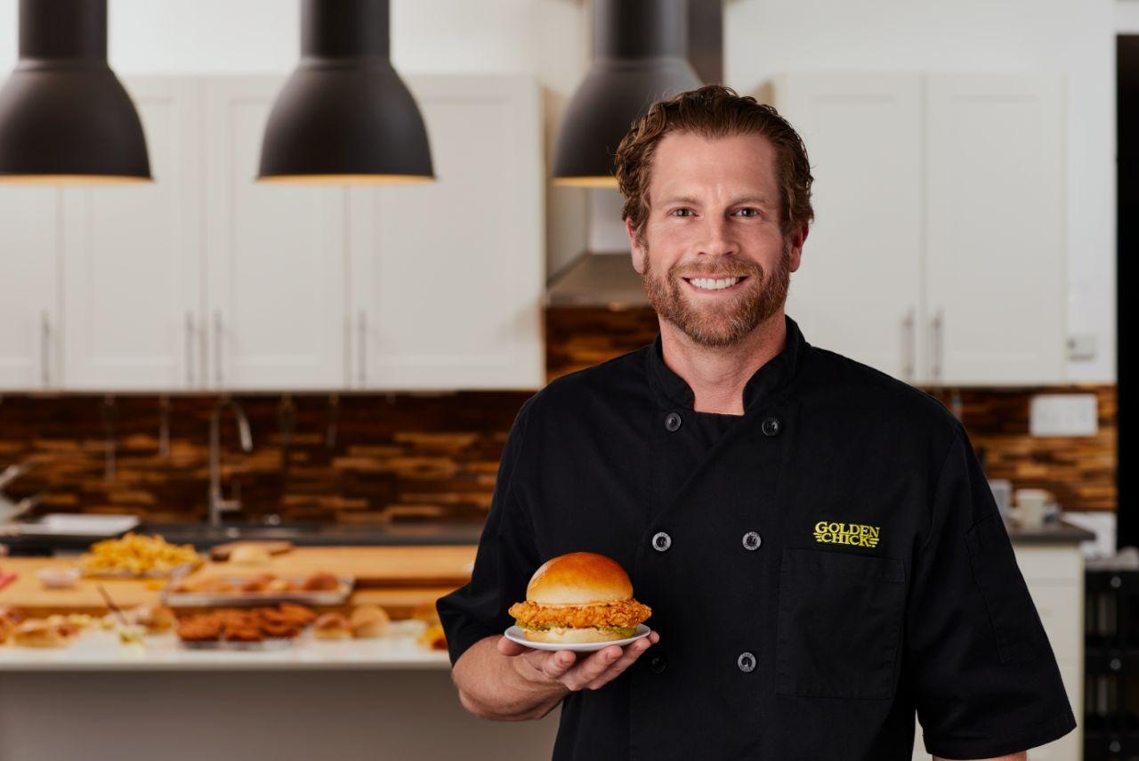 Golden Chick Introduces Big & Golden Chicken Sandwich
