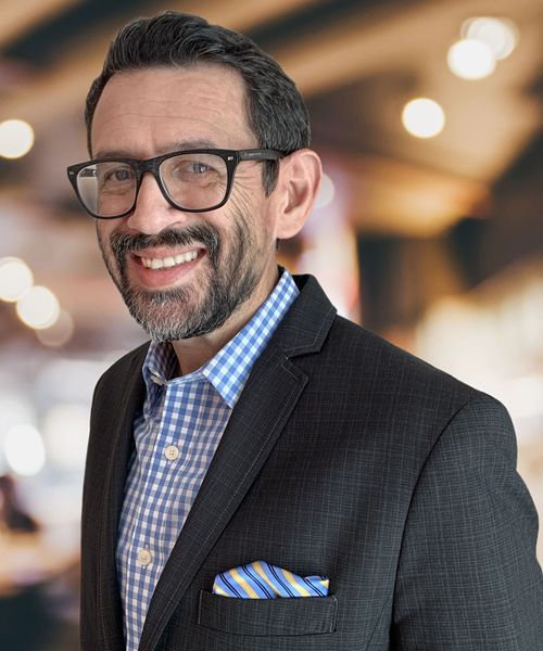Sergio Valentin, Sr., president and CEO of My Friend's Place.