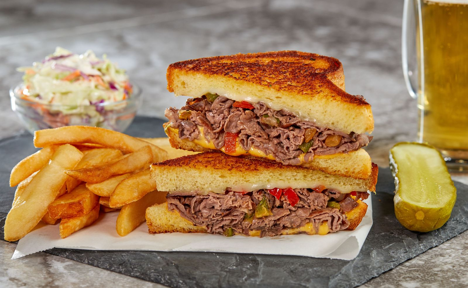 TooJay's Deli Celebrates National Sandwich Month With the Return of the Philly Grilled Cheese for a Limited Time