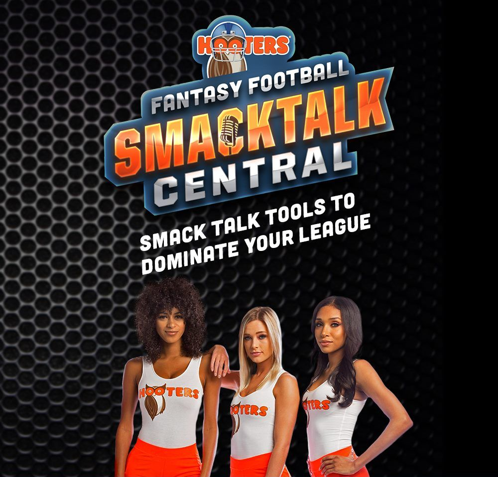"Dish Out Hooters ""Smack Talk"" to Your League as Part of the Ultimate Fantasy Football Draft Experience"