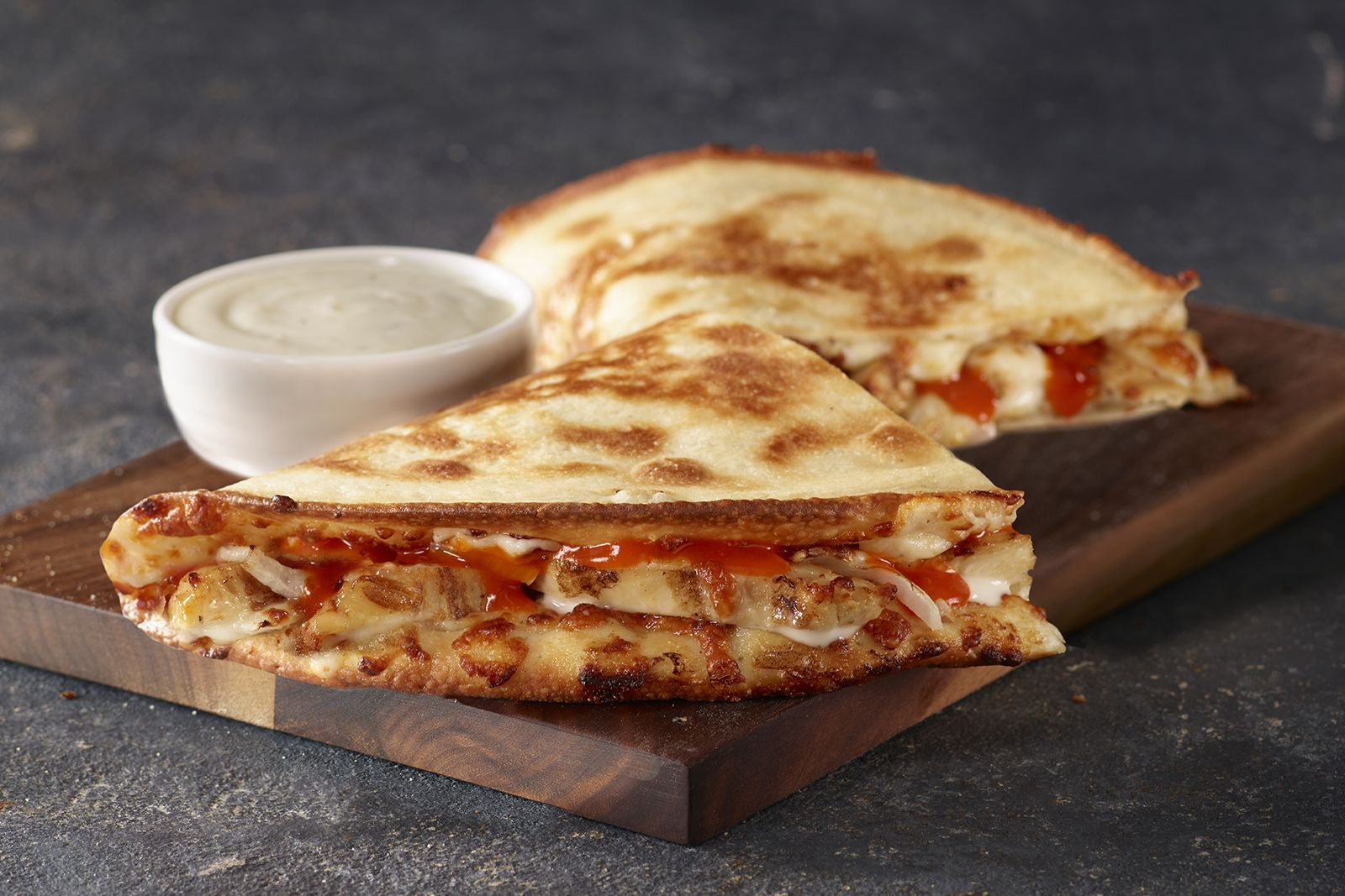 Papa John's New Grilled Buffalo Chicken Papadia Brings the Heat - But Not the Mess - Of Traditional Chicken Wings