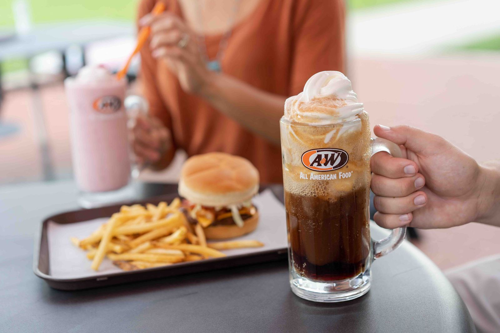 A&W Restaurants Posts Third Straight Month of Double-Digit Comp-Sales Growth