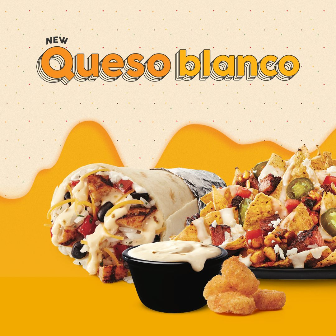 Taco John's Debuts New Bigger. Bolder. Better. Queso Blanco