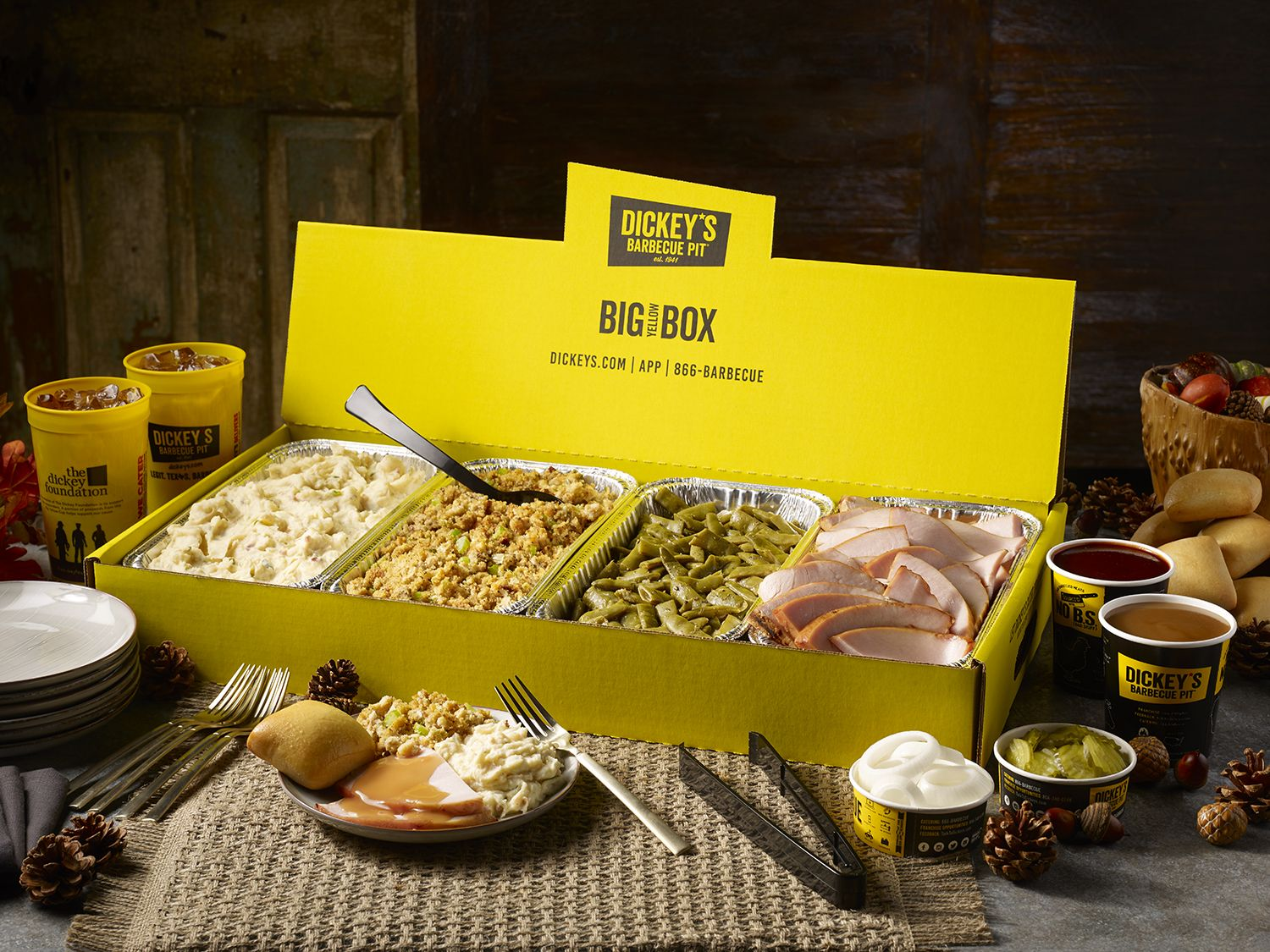 Dickey's Barbecue Pit Celebrates The Holiday Season With Free Pumpkin Pies
