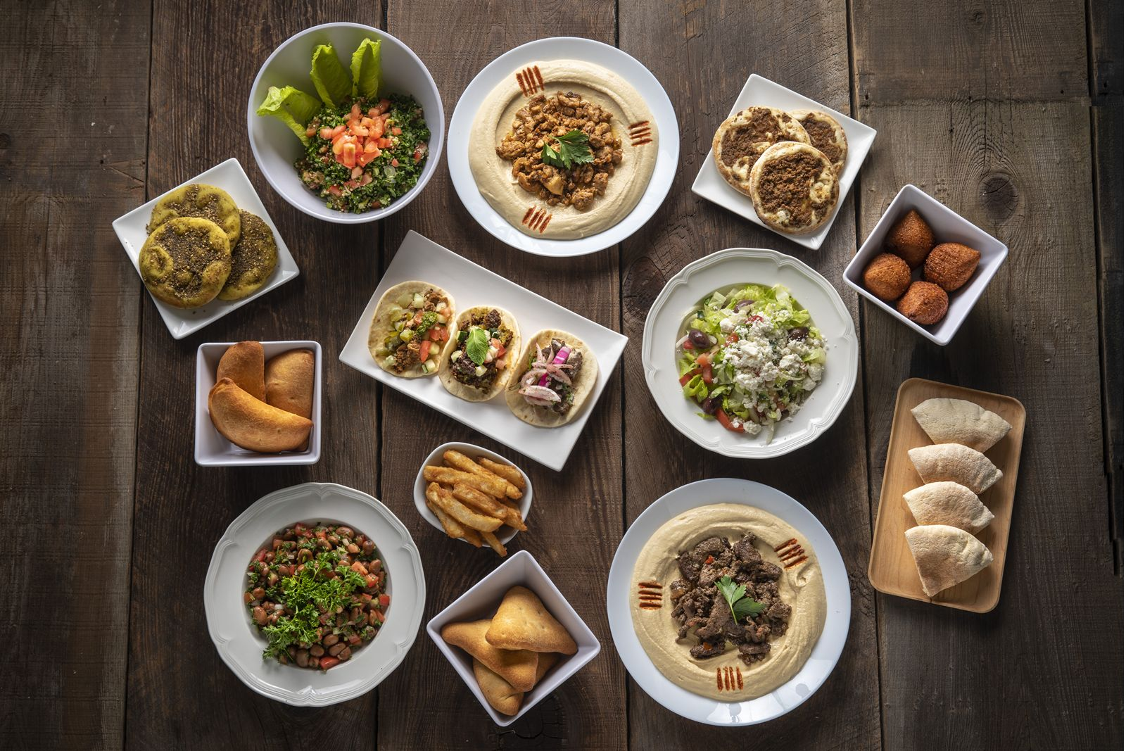 SAJJ Mediterranean Expands Menu With Addition Of Chef-Curated Small Plates Designed To Be Shared.